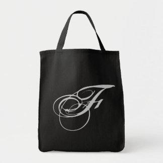 Elaborate Monogram F Purse Tote Bag