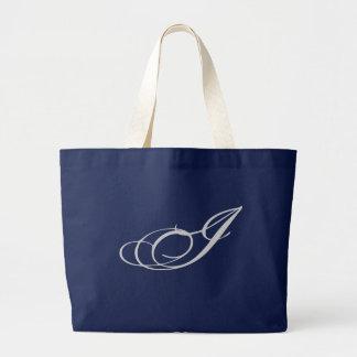 Elaborate Monogram I Purse Large Tote Bag