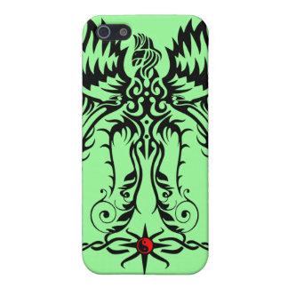 Elaborate phoenix iPhone SE/5/5s cover