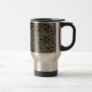 Elaborate Steampunk Mandala Mug