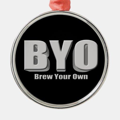 Elabore cerveza su propia cerveza ornamente de reyes