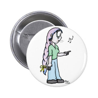 Elain copy pinback button