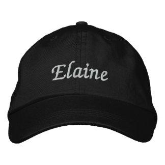 Elaine Embroidered Baseball Hat