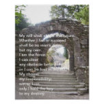 Elaine Maxwell. My Will shall shape the future Posters