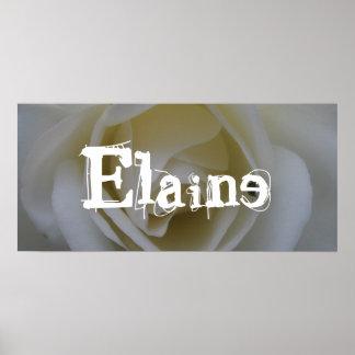 Elaine Poster