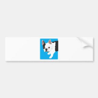 elaine scharnitzky's Boston Terrier Toby Bumper Sticker