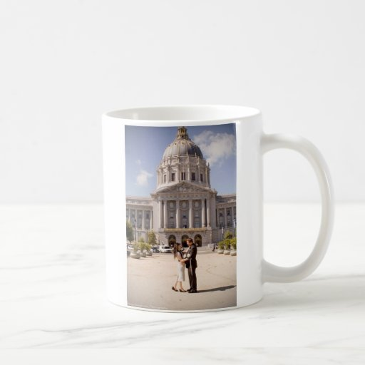 Elaine & Tristan wedding mug
