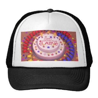 Elaine's Birthday Cake Trucker Hat