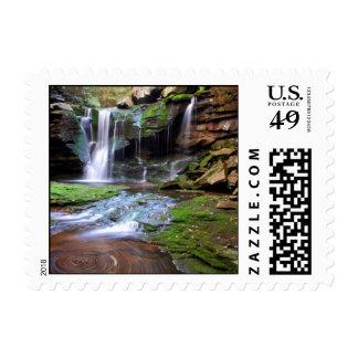 Elakala Waterfalls Postage Stamp