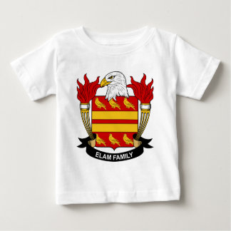 Elam Family Crest Baby T-Shirt