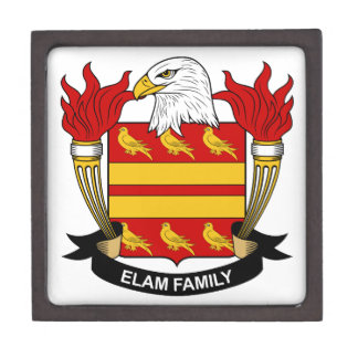 Elam Family Crest Gift Box