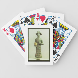 Elamite God with Golden Hand from Susa, Southweste Bicycle Playing Cards