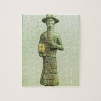 Elamite God with Golden Hand from Susa, Southweste Jigsaw Puzzle