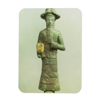 Elamite God with Golden Hand from Susa, Southweste Magnet