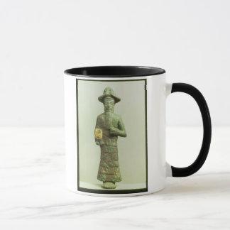 Elamite God with Golden Hand from Susa, Southweste Mug