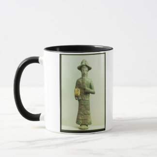 Elamite God with Golden Hand from Susa, Southweste Mug