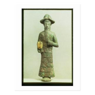 Elamite God with Golden Hand from Susa, Southweste Postcard
