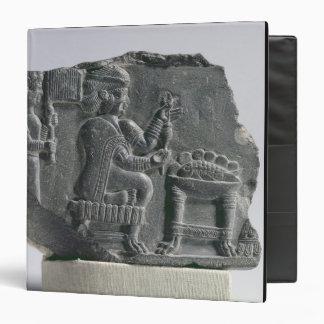 Elamite woman spinning, Neo-Elamite Period, c.700- Binder