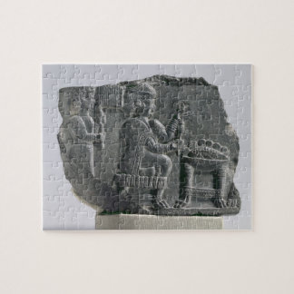 Elamite woman spinning, Neo-Elamite Period, c.700- Puzzle