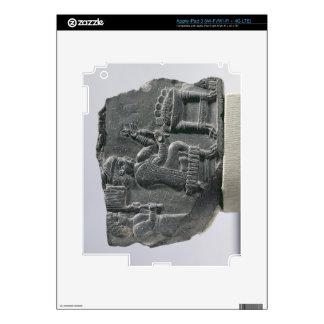 Elamite woman spinning, Neo-Elamite Period, c.700- iPad 3 Skins