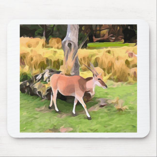 Eland Antelope from Safari Mouse Pad