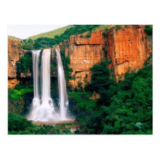 Elands River Falls, Mpumalanga, South Africa Postcard