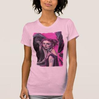 elanya the faery scryer t-shirt