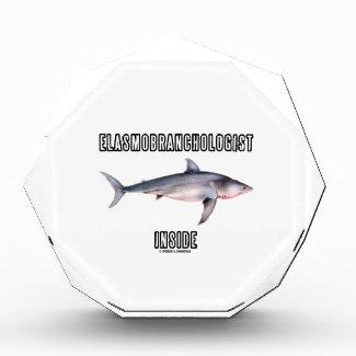 Elasmobranchologist Inside (Great White Shark) Acrylic Award
