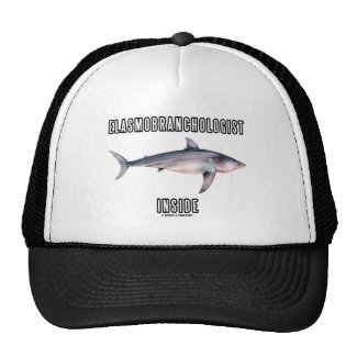 Elasmobranchologist Inside (Great White Shark) Mesh Hat