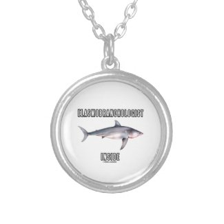 Elasmobranchologist Inside (Great White Shark) Personalized Necklace