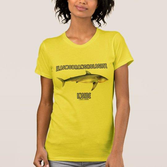 Elasmobranchologist Inside (Great White Shark) T-Shirt