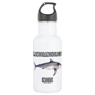 Elasmobranchologist Inside (Great White Shark) Water Bottle