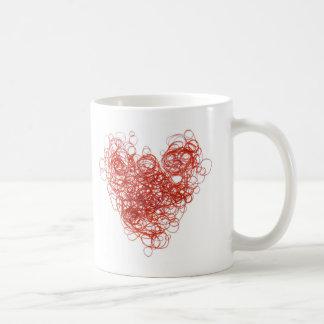 elastic love coffee mug