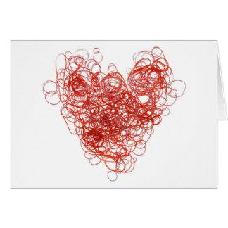 elastic love greeting card