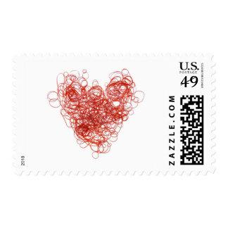 elastic love postage