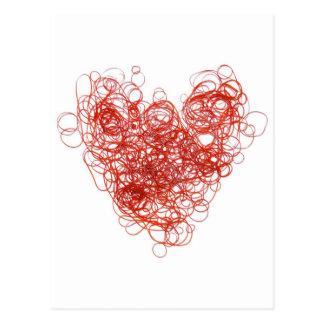 elastic love postcard
