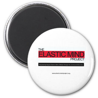 Elastic Mind Project 2 Inch Round Magnet