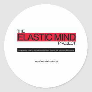 Elastic Mind Project Classic Round Sticker
