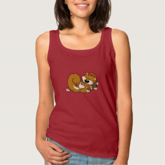 Elated Squirrel! Tank Top