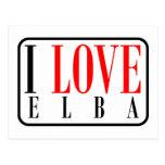 Elba, Alabama Postcard
