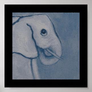 Elba el elefante póster