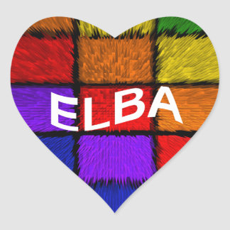 ELBA HEART STICKER