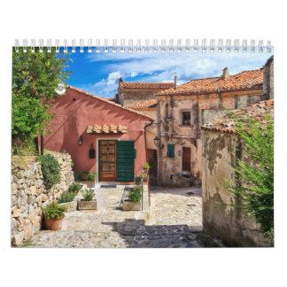 Elba Island - view in Marciana Calendar