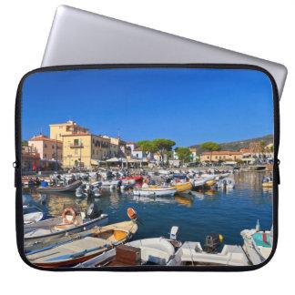 Elba - Marina di Campo Laptop Sleeves