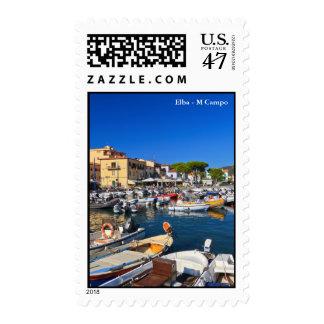 Elba - Marina di Campo Postage Stamp
