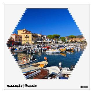 Elba - Marina di Campo Wall Decal
