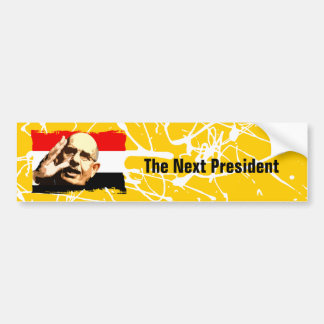 ElBaradei The Next President Bumper Sticker