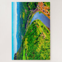 Elbe Valley Germany. Jigsaw Puzzle