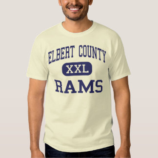 Elbert County Rams Middle Elberton Georgia Shirt