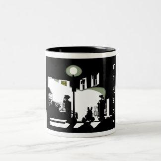 Elbolas  Exorcist Two-Tone Coffee Mug